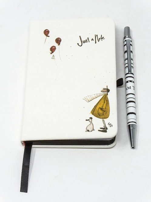 Sam Toft 'Mustard Collection' A6 Notebook and Pen Set