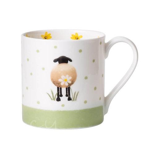 Lucy Pittaway Sheep and Daisy Mug