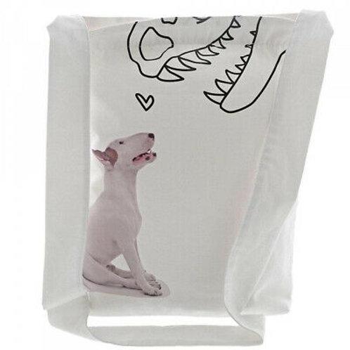 Jimmy the Bull - Dino Love Tote Bag