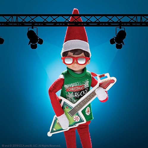 CLAUS COUTURE COLLECTION® NORTH POLE ROCK-AND-ROLL (SCOUT ELF NOT INCLUDED)