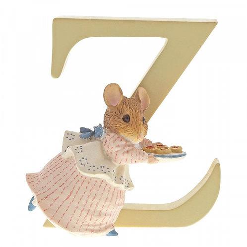 Beatrix Potter Ceramic Letters - Letter Z
