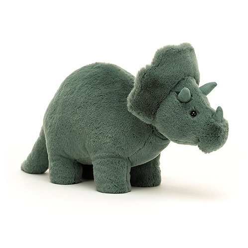 Jellycat Fossilly Triceratops - Various Sizes