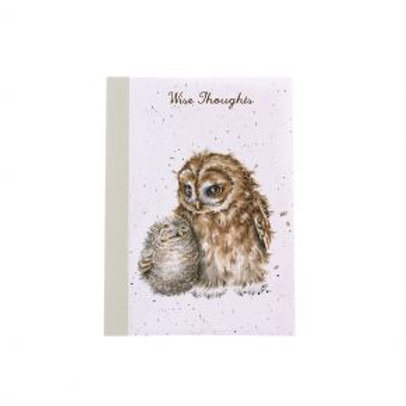 Wrendale Owl-ways by your side A6 Notebook