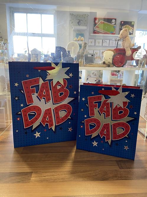 Fab Dad Gift Bag - Varioys Sizes