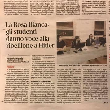 """Conferenza stampa di presentazione de """"I giorni dell'inquietudine"""" a Palazzo Rota Pisa"""