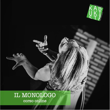 Nuovo ciclo di lezioni su il Monologo, due classi dall'8 e 9 marzo.