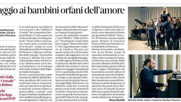 Sulla Libertà il bellissimo articolo sulla performance dell'Under 22 Lab e Gianluca Piacenza