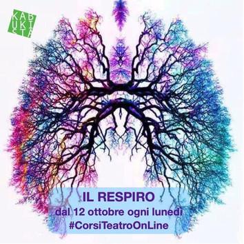 Si inizia il 12 ottobre con il primo di quattro incontri sul RESPIRO