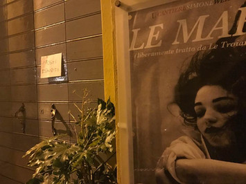 Al numerosissimo pubblico de Le Maree, GRAZIE!