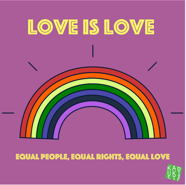 Love is love. Equal people, equal rights, equal love. #bastacolmedioevo