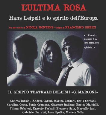 L'ultima Rosa in replica! Il 29 novembre il gruppo teatrale dell'ISII Marconi torna in scena