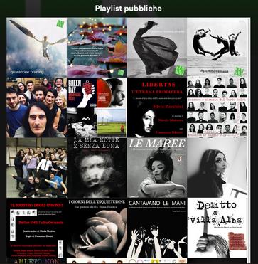 Nuova playlist Spotify per il training quotidiano. Esercitarsi sempre!!