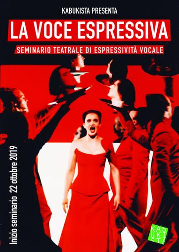 La voce espressiva: seminario teatrale di espressività vocale. Dal 22 ottobre a Piacenza!