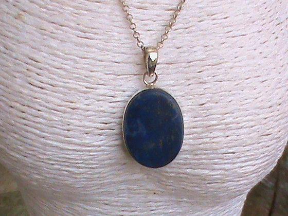 Pendentif sans chaîne argent 925 lapis lazuli