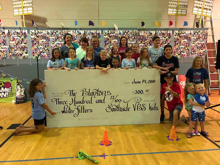 VBS Raises $300 for Clean Water