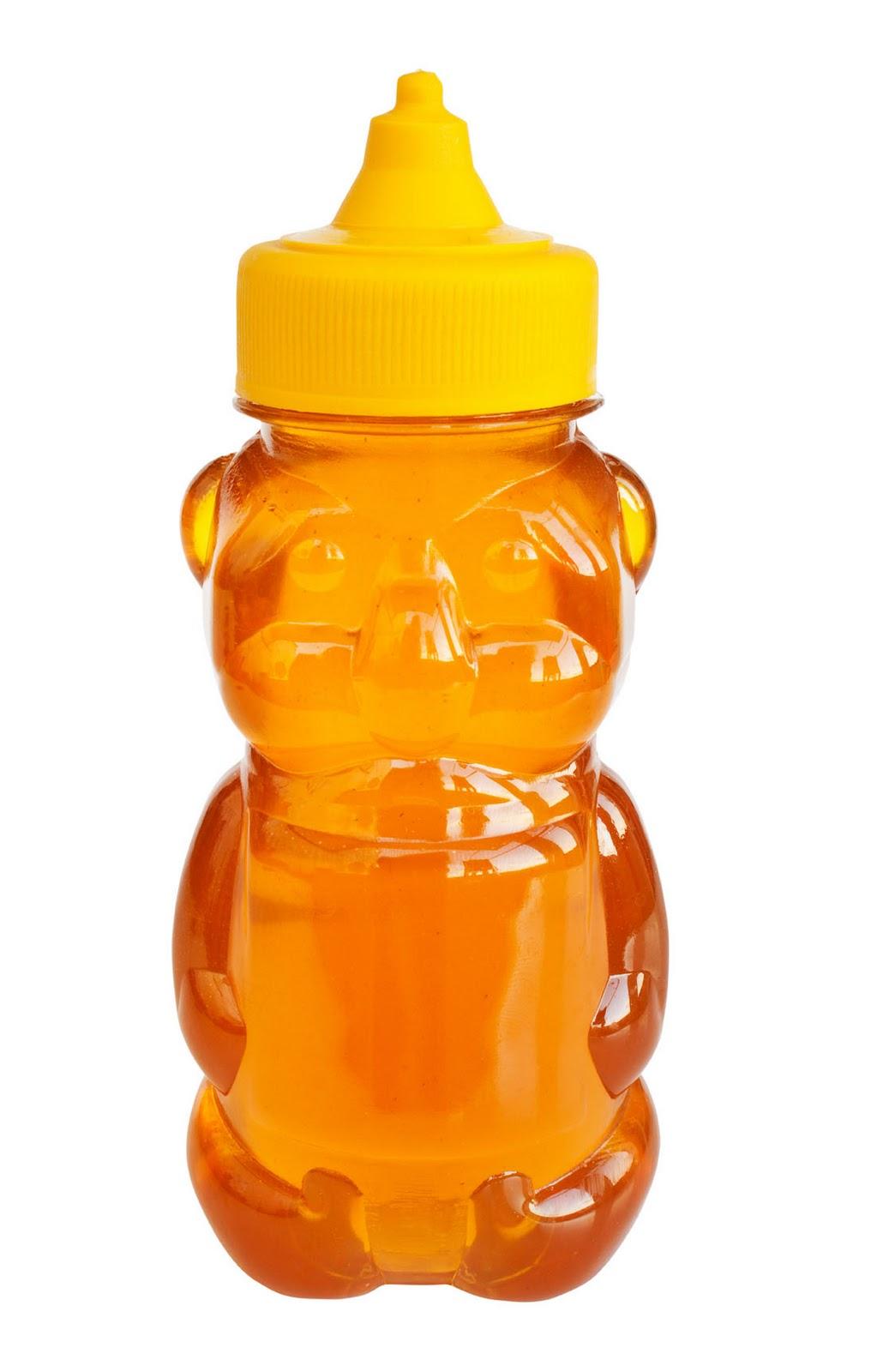 honey bear yellow lid38084635