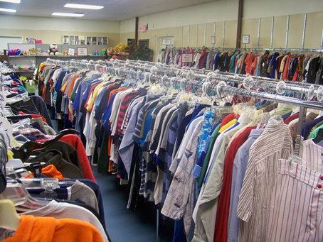 Sorting Clothes for Greater Spartanburg