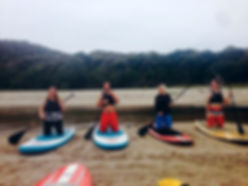 paddle boarding lessons at Flaxmill Bay, Whitianga and Cooks Beach