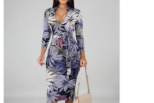 Explosive Midi Dress