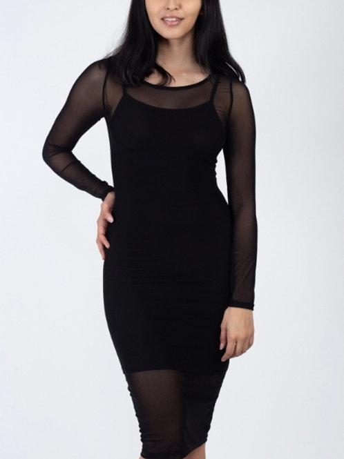 A Mesh Dress