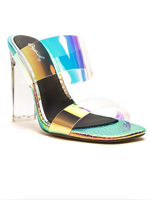 Mermaid Iridescent Mules