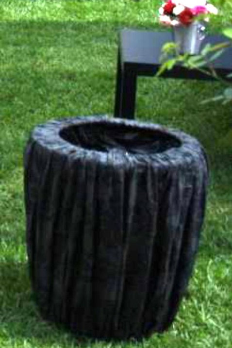 Garbage Bin with cover and bin liner