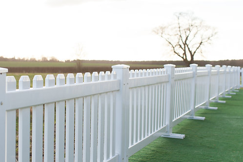 White Picket Fence 2.5m