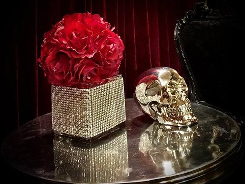 Decorative Silver Skulls