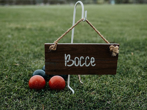 Bocce Lawn Game