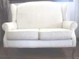 Cream Wingback 3 Seater