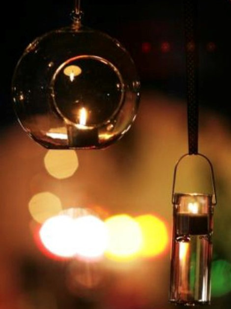 Hanging Tea Light Holders