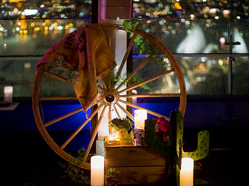 Timber Wagon Wheel