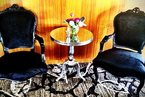 Black Vintage Arm Chair