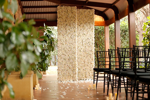 Floral wall panels