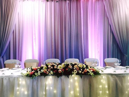 Fairy Light Table Skirting