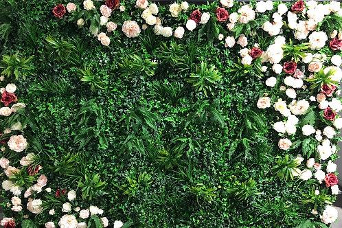 Artificial Foliage Wall