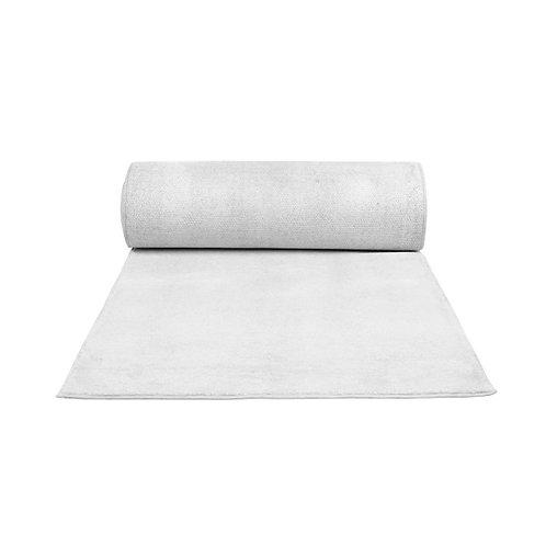 White Carpet Runner - 6m
