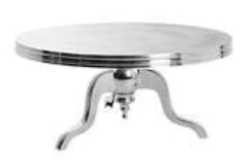 Silver Bordeaux Cake Stand