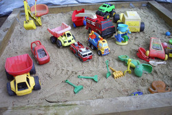 8' x 8' Sandbox