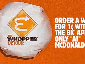 Irreverent, before Burger King were irreverent.
