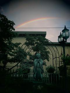 親鸞様と虹