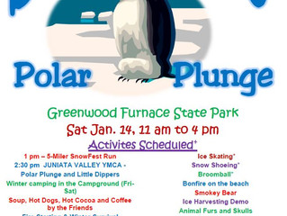 SnowFest at Greenwood Furnace State Park: Polar Plunge, and MORE!