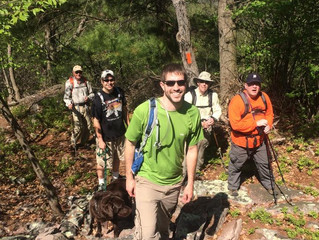 Standing Stone Trail, Huntingdon County Sierra Otzinachson Group Hike
