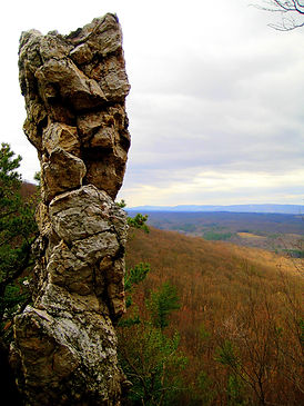 Standing Stone Trail Monument Rock