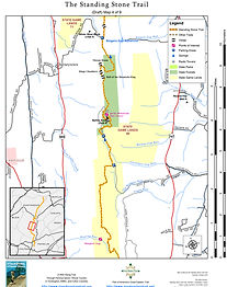 The Standing Stone Trail Map Page on farmington canal map, henderson field map, watson island map, central point map, road map, street map, sam's point preserve map, roscommon county gis map, st. john's map, cloudland canyon yurt map, yellowstone county montana map, town of perinton ny map, route 66 scenic byway map, recapture canyon utah map, summit county colorado topo map, aep recreation lands ponds map, hiking map, st. catharines map,