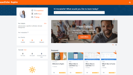 Laserfiche's New Learning platform, Aspire - Coming Soon! Action Required for Importing Transcripts.