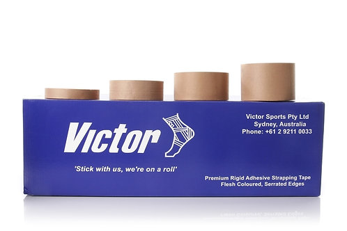 Victor Professional Super Rigid Strapping Tape ([VIC25-Box] 25mm x 13.7M)