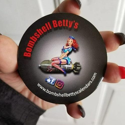Bombshell Betty's Sticker