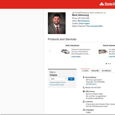 Mark Allemang - State Farm