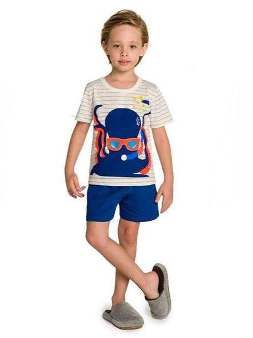 Pijama Infantil Polvo Interativo
